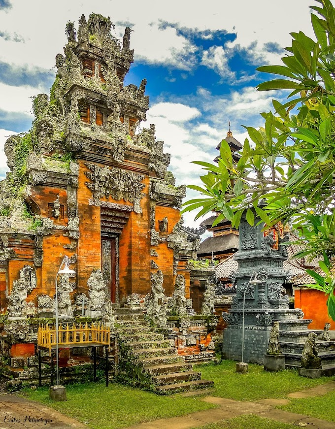 Pura Dalem Temple, Ubud Bali Indonesia