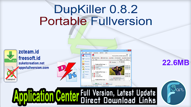 DupKiller 0.8.2 Portable Fullversion