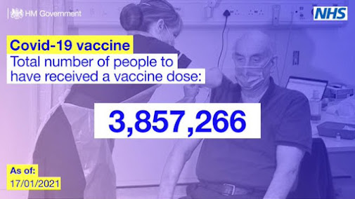 Total number of vaccine doses today
