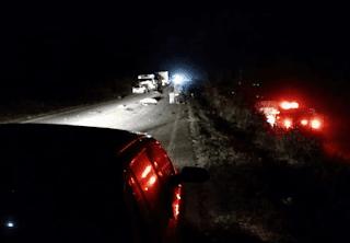 Itiruçu: Acidente na BA 250 deixa dois mortos e dois feridos