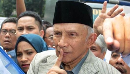 Amien Rais: Saya Masih Menahan Diri Kritik Jokowi