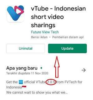 Cara Download dan Instal Update vTube Versi 2.0.9 Terbaru