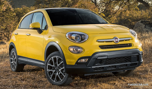 North American Fiat 500X Trekking Plus