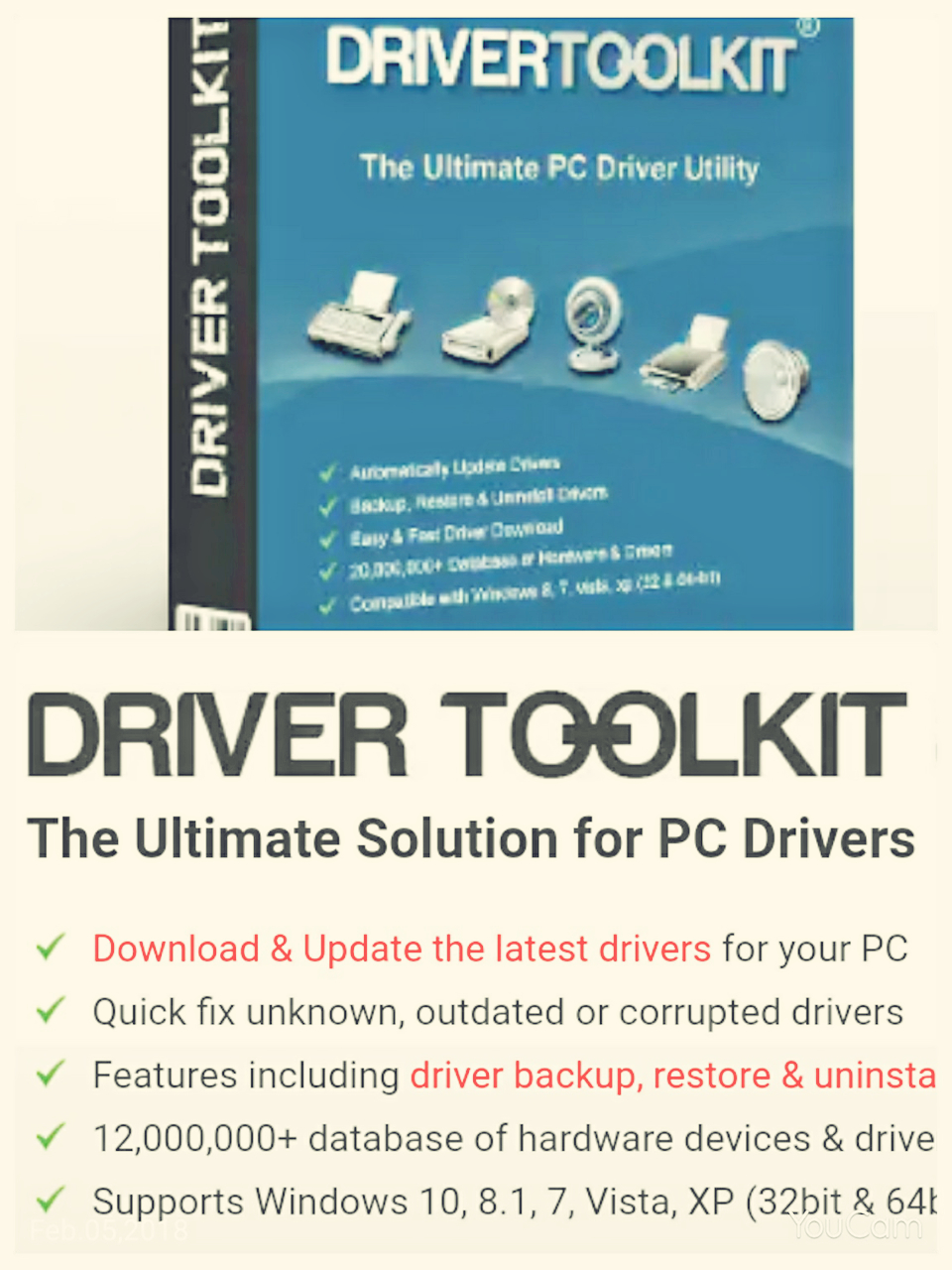 driver toolkit 8.3 license key + crack for free download