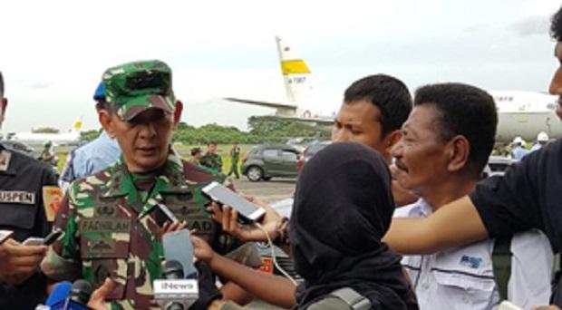 Panglima TNI Tinjau Satgas Kesehatan TNI di Asmat