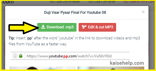 How to Download Music from YouTube to computer and Mobile Browser in Hindi
