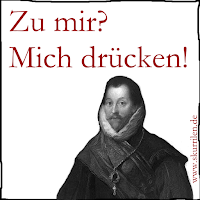 Satire, Comedy, Comic, lustig, komisch, Königin Elizabeth I., Pirat Sir Francis Drake
