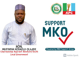 MKO Declares Intent To Run for Chairmanship seat in Abeokuta South LG