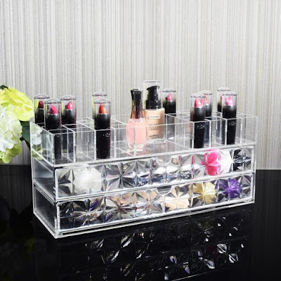 Get mom the Nile Corp Acrylic Cosmetics Makeup and Jewelry Storage Case Display Organizer this Mother's Day