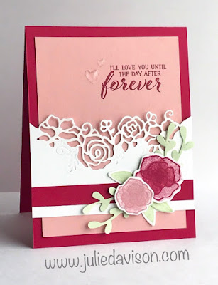 Stampin' Up! Forever Lovely Card ~ 2019 Occasion Catalog ~ www.juliedavison.com