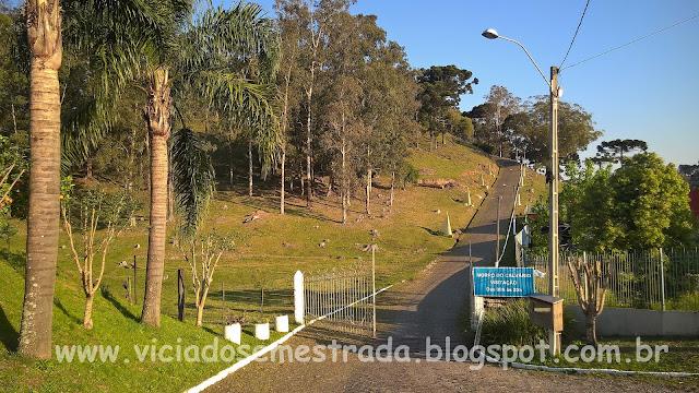 Subida do Morro do Calvário, Carlos Barbosa, Serra Gaúcha