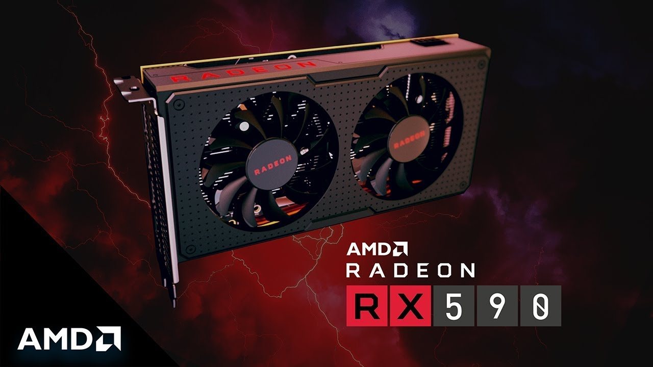 AMD Radeon RX 590 Mid-Range GPU Announced for Full-HD PC Gaming