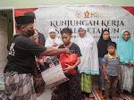 HBK PEDULI Bagikan Ribuan Bantuan Sembako diPenghujung Ramadhan