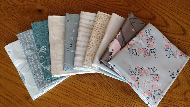 Blithe fabrics by Art Gallery Fabrics