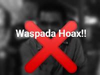 Warning! Penyebar Hoax Covid19 Diancam Pidana Kurungan 6 Tahun