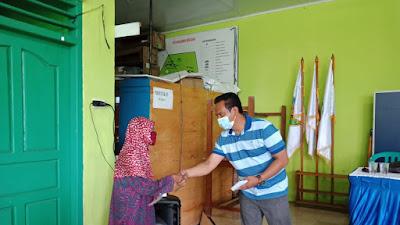 CV. ATA Beri Tali Asih Puluhan Masyarakat Desa Sukaraja Rajabasa