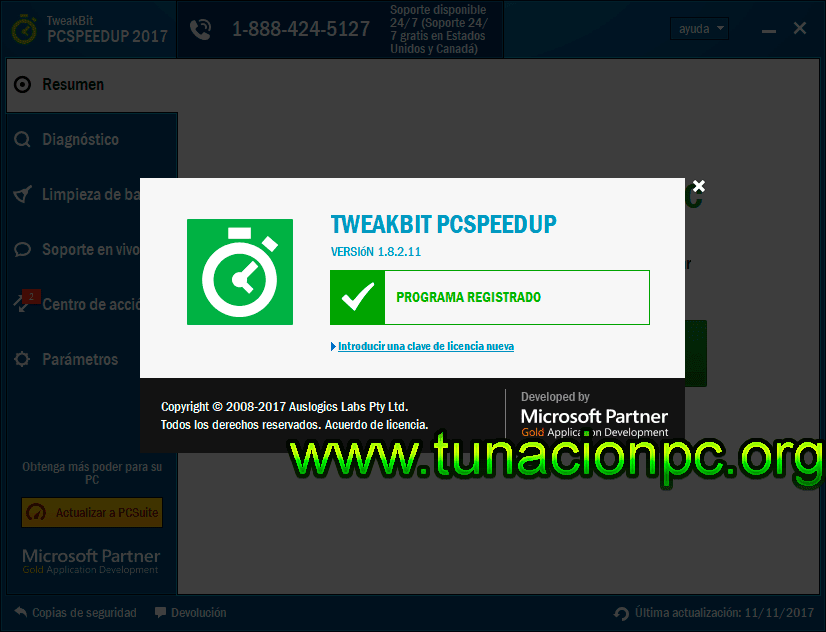 TweakBit PCSpeedUp, Optimiza Windows