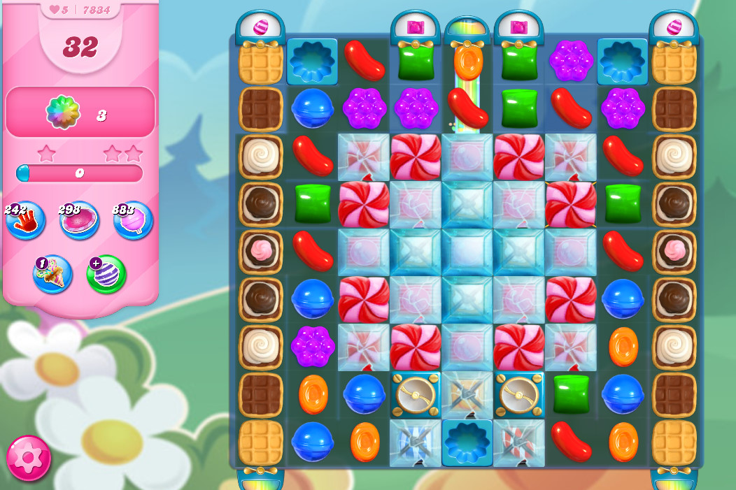Candy Crush Saga level 7834