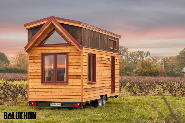 tiny house town tiny house ondine by baluchon. Black Bedroom Furniture Sets. Home Design Ideas