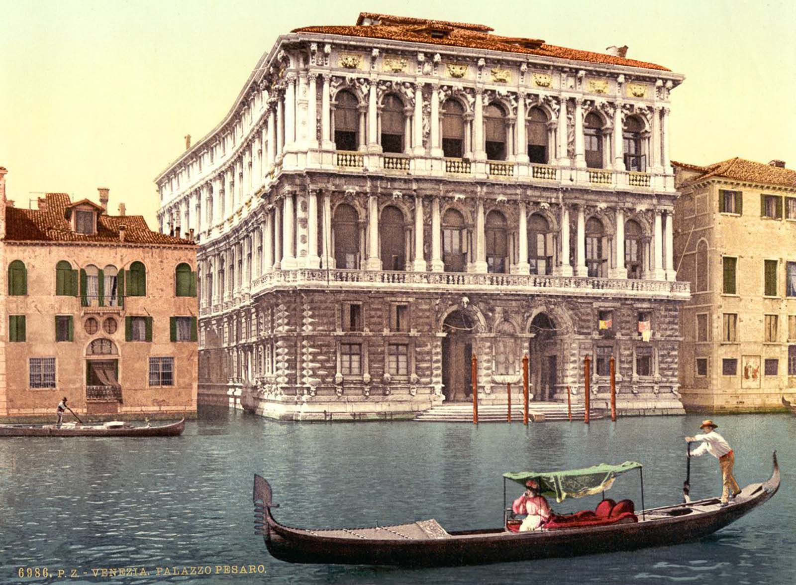 Pesaro Palace on the Grand Canal.