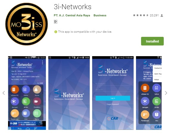 Download Aplikasi 3i Networks Mobiss