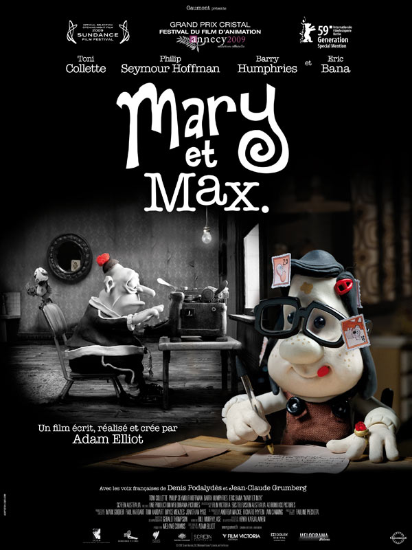 Sasha Hart Cg Artist Transcription Mary And Max 2009 Review