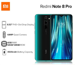 Download MIUI 12 Stable Redmi Note 8 Pro (Begonia) Fastboot / Recovery