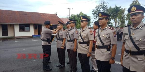 Lima Perwira Pertama Polres Barsel Bergeser