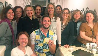 Gabriel Levy visita Wizo-Rio