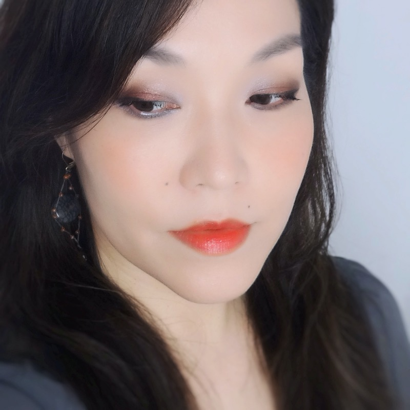 Dior 5 Couleurs en Diable 087 Volcanic review swatches