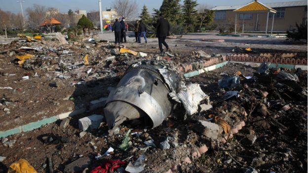 Le crash d'un avion en Iran : Trudeau pense que le missile a abattu un jet
