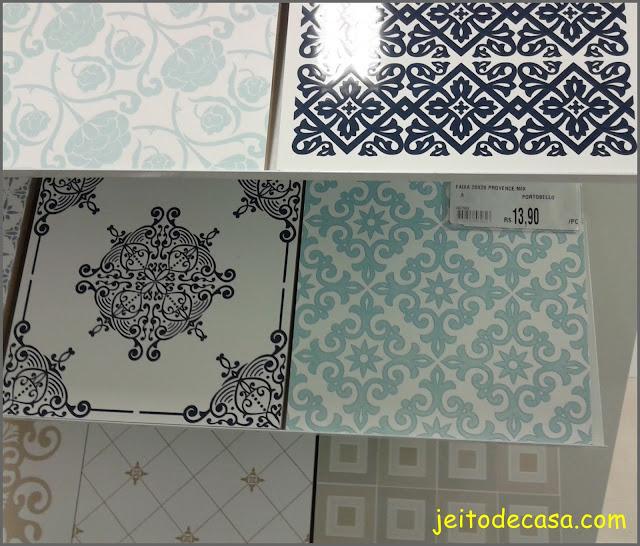 azulejos linha provence da  Portobello