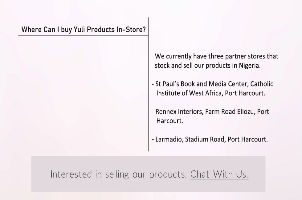 Where to Fin Yuli Interior Products In Store