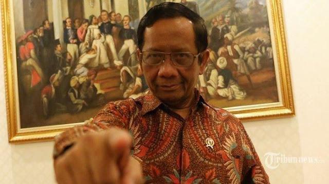 Sepakat dengan PBNU, Mahfud: Jokowi Tak Bisa Dijatuhkan karena Penanganan Covid