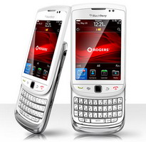BlackBerry Torch 9800 for Rogers now available in white