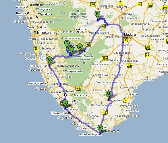 .Mysticlama: My Trivandrum