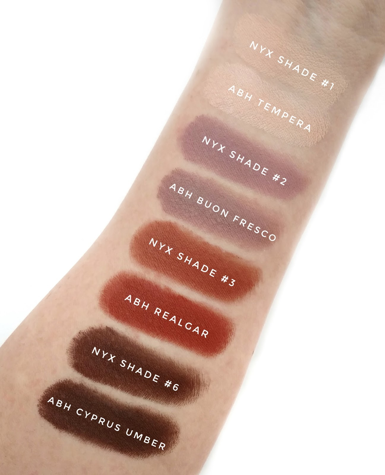 nyx lid lingerie shadow palette review swatches. Black Bedroom Furniture Sets. Home Design Ideas