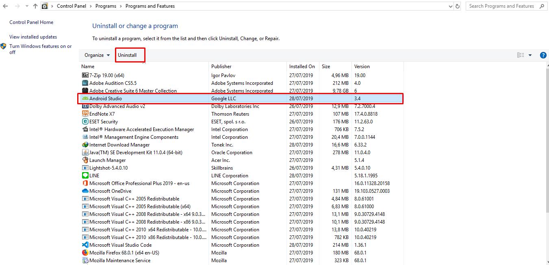 list aplikasi Windows 10