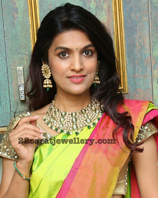 Ritu Kundan Polki Necklace