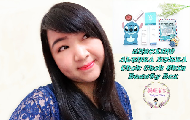 Unboxing Althea Korea Chok Chok Skin Beauty Box #MeisUniqueBlog