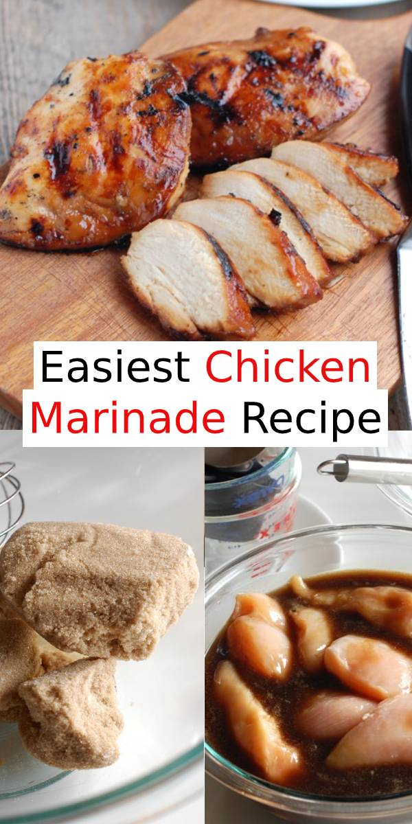 Easiest Chicken Marinade Recipe | Chicken Breast Recipe | Just 4 ingredients is all you need for the best chicken marinade! #chicken #chickenbreast #marinade #dinner #maindish
