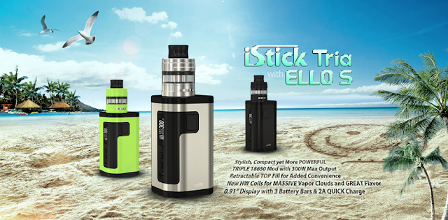 What Is Eleaf iStick Tria with ELLO S Kit