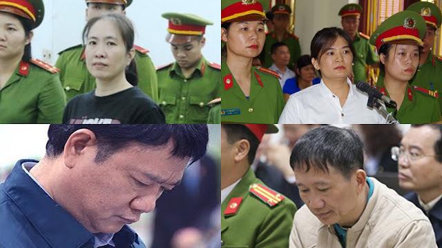 Đinh La Thăng không đánh xách dép cho Nguyễn Ngọc Như Quỳnh, Trần Thị Nga