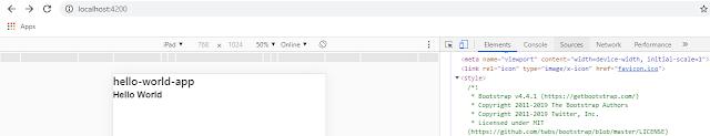Adding Bootstrap to Angular