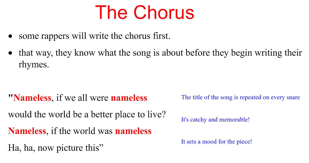 How to Write a Chorus with a Catchy Hook