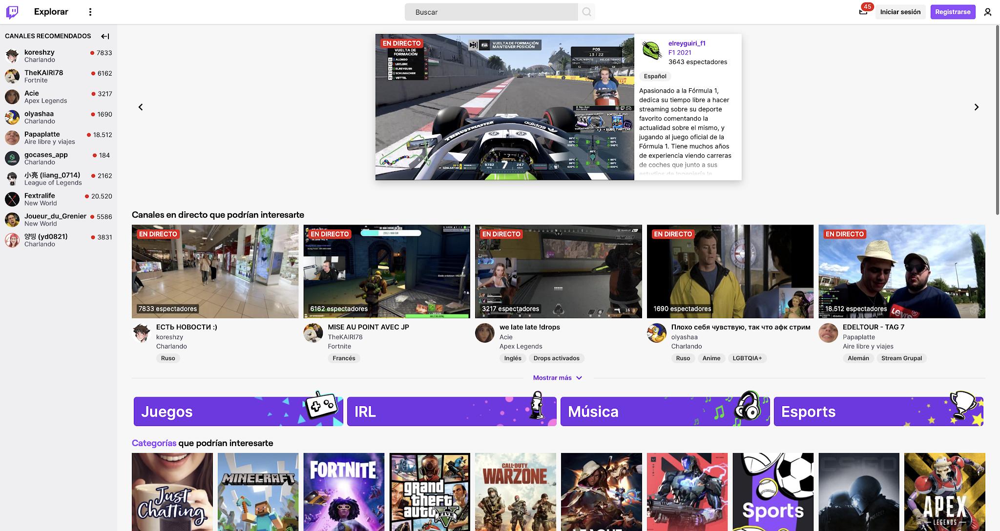 Stream Twitch