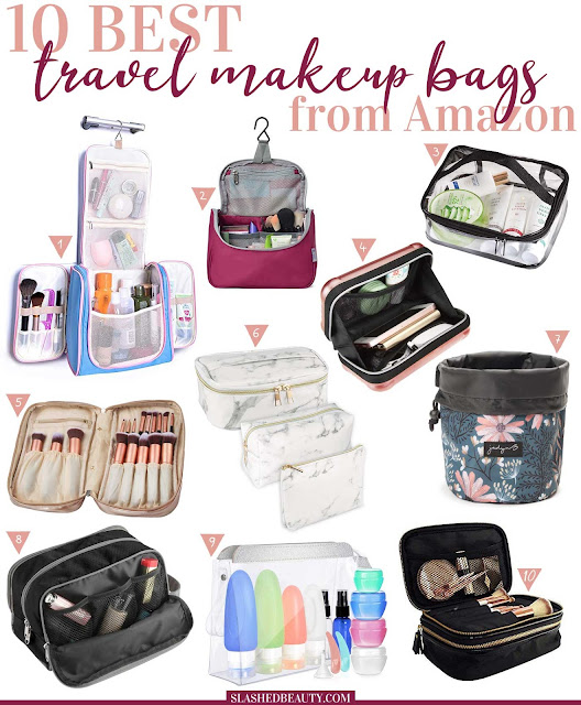 10 Best Travel Makeup Bags to Buy on Amazon