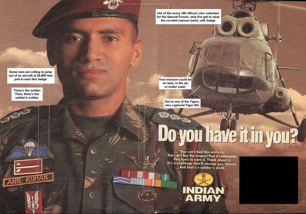 Macho Indian: Para Commandos (Indian Army SF