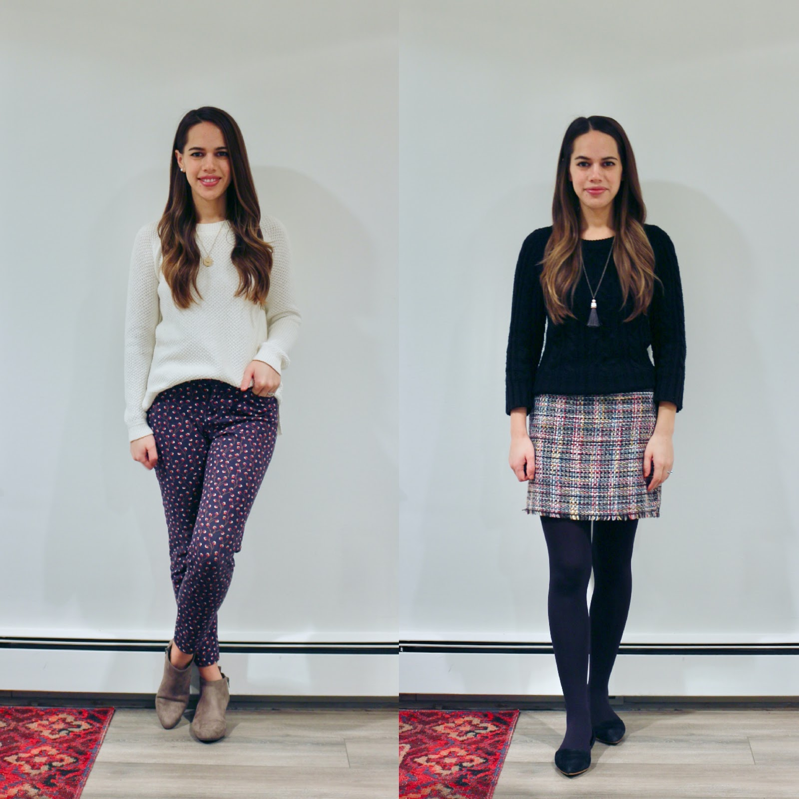 Jules in Flats - January Outfits Week 1 (Business Casual Workwear on a Budget)