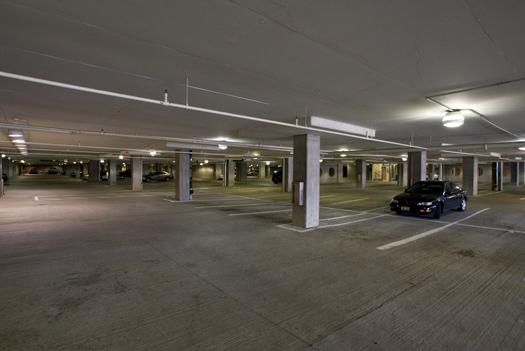 Cincinnati Riverfront Parking Garage